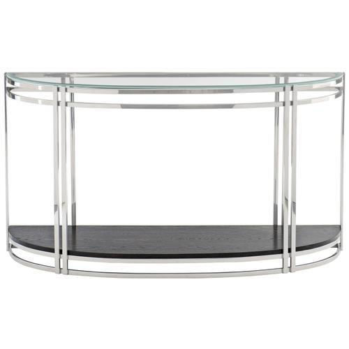 Caden Demilune Console Table