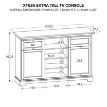 XT63A Extra Tall Custom TV Console