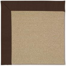 Creative Concepts-Sisal Canvas Bay Brown Machine Tufted Rugs