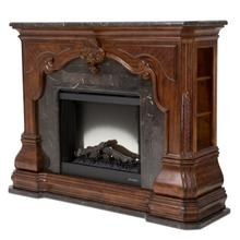 Fireplace W/electric Insert