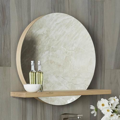 "22"" Solace Mirror in Sunrise Oak"