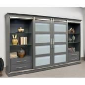 CASCADE Sliding Door Entertainment Wall