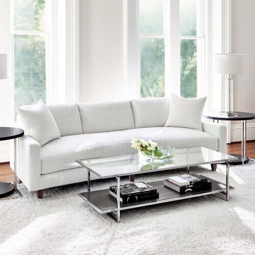 Bernhardt - Silhouette Side Table in Figured Onyx (307)