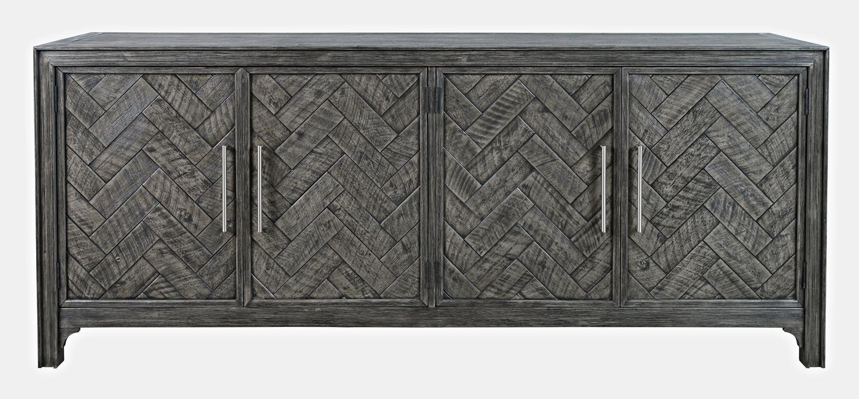 JofranGramercy Platinum 4 Door Accent Cabinet