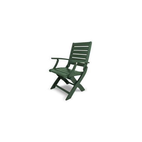 Polywood Furnishings - Signature Folding Chair in Green
