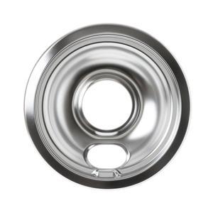 GERange 6 inch chrome drip bowl