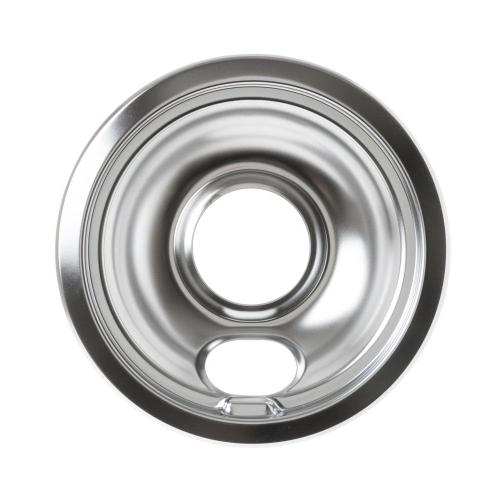 GE Appliances - Range 6 inch chrome drip bowl