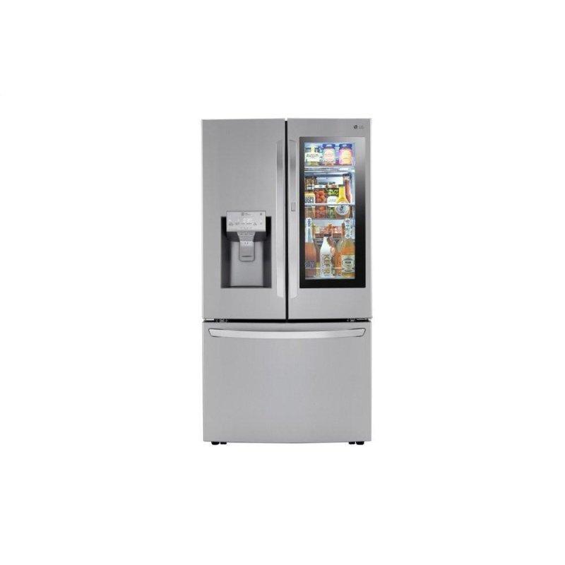 24 cu. ft. Smart wi-fi Enabled InstaView™ Door-in-Door® Counter-Depth Refrigerator with Craft Ice™ Maker