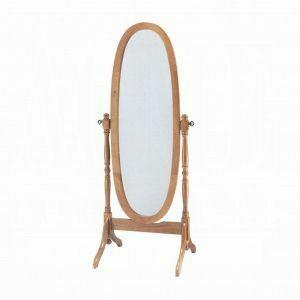 ACME Fynn Cheval Mirror - 02289 - Oak