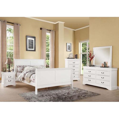 Acme Furniture Inc - L.P.III Wh California King Bed