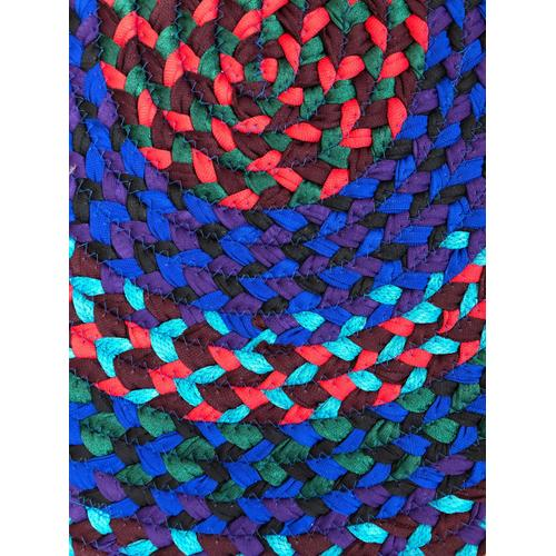 """Hometown Braided Rug Jewel Tone Braided Rugs 27"""" x 48""""(Actual size 27"""" x 48"""")"""