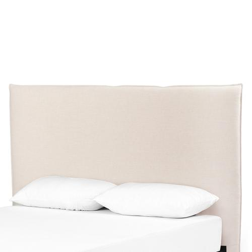 King Size Savile Flax Cover Junia Headboard