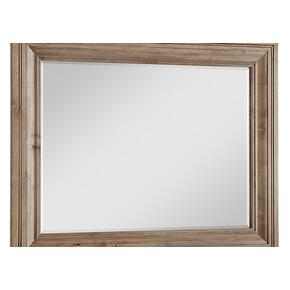 Wide Landscape Mirror - Beveled Glass