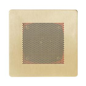 Self Powered Bluetooth Speakers in Polished Brass