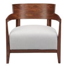 View Product - Volta Arm Chair Cream White