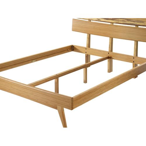 Azara Eastern King Platform Bed, Caramelized