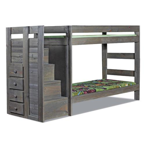 Twin/Twin Staircase Bunk Bed