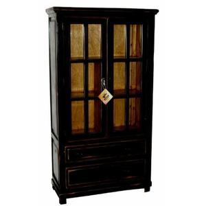 Million Dollar Rustic - Stone Brown Bookcase