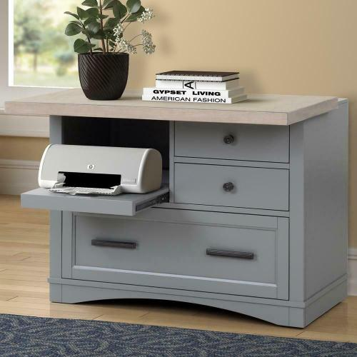 Parker House - AMERICANA MODERN - DOVE Functional File with Power Center