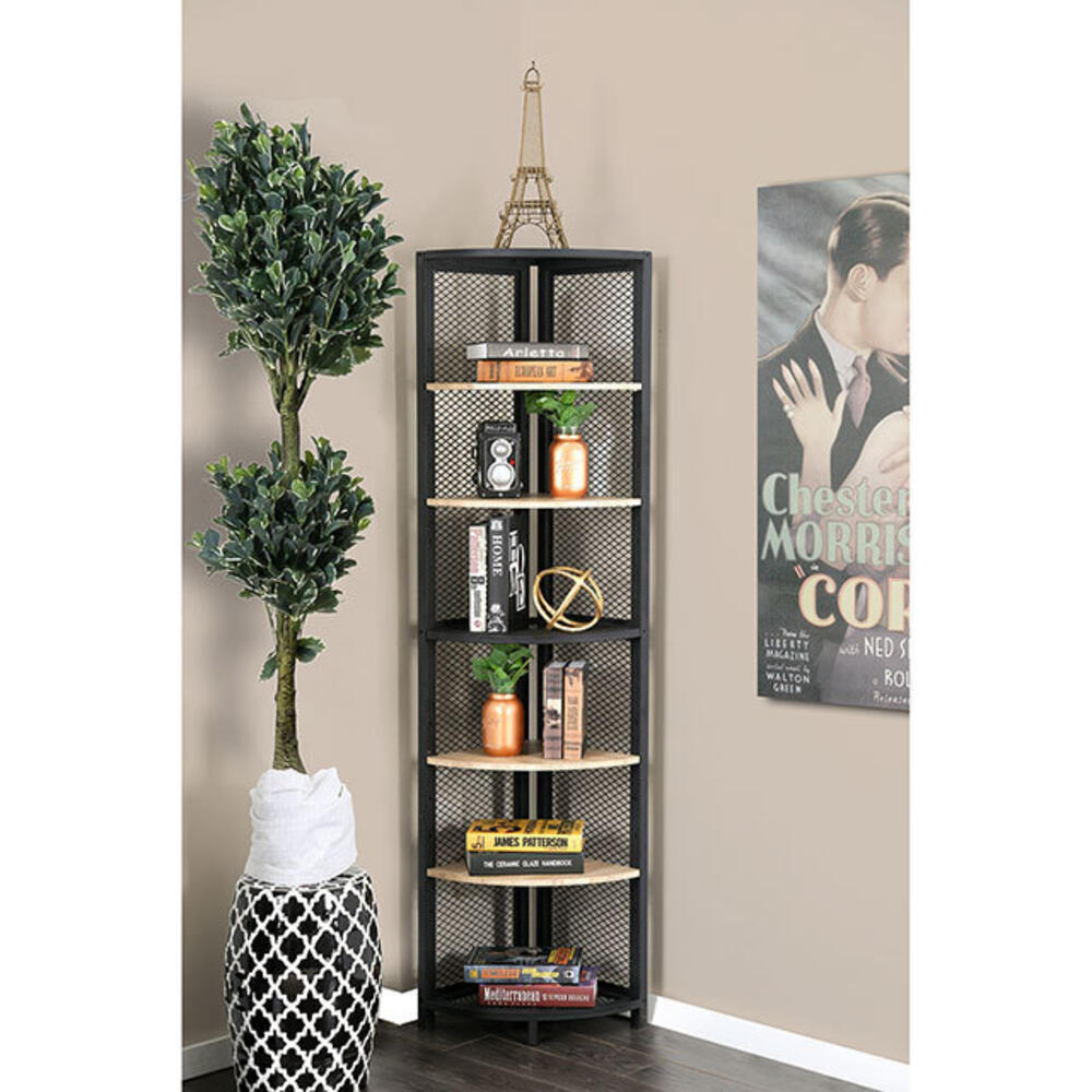 Segovia 6-Tier Corner Shelf