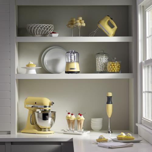 KitchenAid - 2-Speed Hand Blender Majestic Yellow