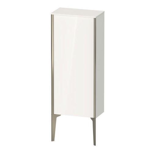 Duravit - Semi-tall Cabinet Floorstanding, White High Gloss (lacquer)