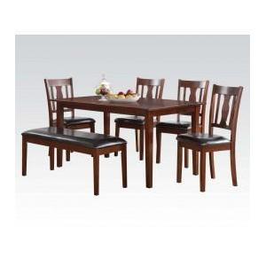 Acme Furniture Inc - 6pc Pk Dining Set
