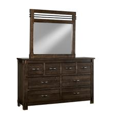 Dresser \u0026 Mirror - B646 Molasses Finish