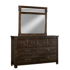 Dresser \u0026 Mirror - B646 Molasses Finish