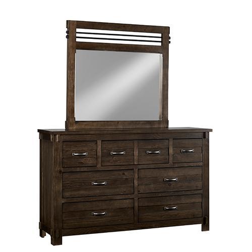 Gallery - Dresser \u0026 Mirror - B646 Molasses Finish