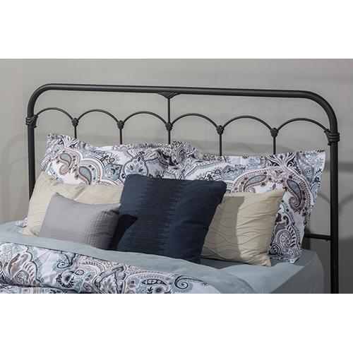 Gallery - Jocelyn Bed Kit With Frame - Queen - Black Speckle