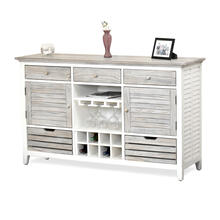 Islamorada Sideboard with Wine Rack