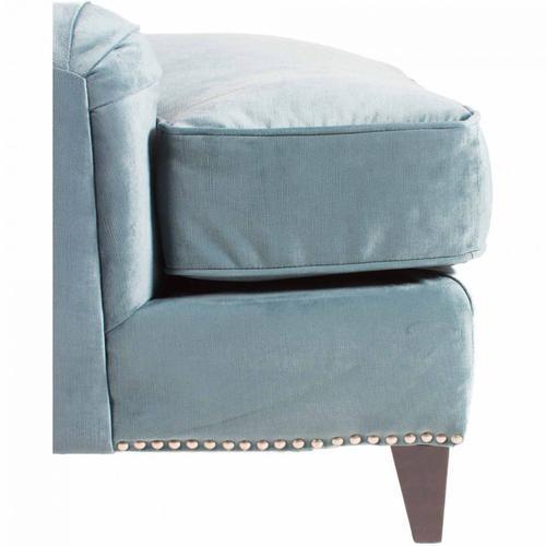 Bibiano Chaise Velvet Blue