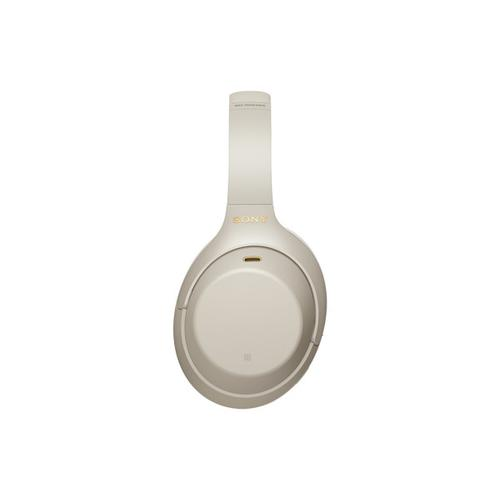Gallery - Wireless Over-ear Industry Leading Noise Canceling Headphones with Microphone - Silver