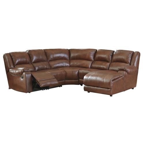 Billwedge 5-piece Reclining Sectional