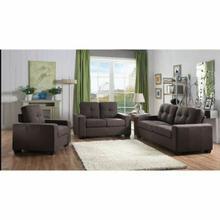 ACME Platinum III Sofa - 52930 - Charcoal Fabric