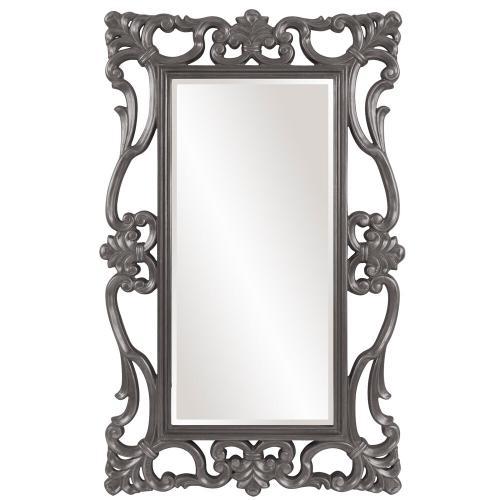Howard Elliott - Whittington Mirror - Glossy Charcoal