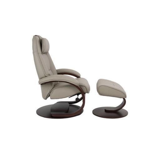 Fjords - Admiral C Manual Small Recliner With Footstool