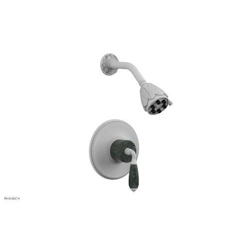 VALENCIA Pressure Balance Shower Set PB3338F - Satin White