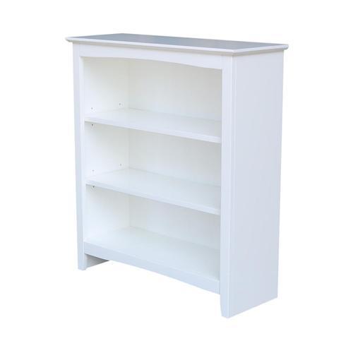 36'' H Shaker Bookcase
