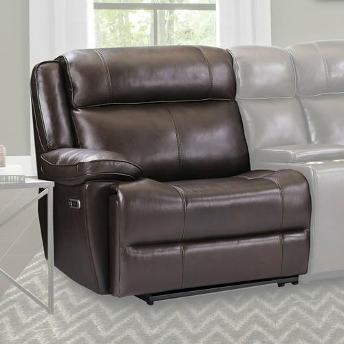 Parker House - ECLIPSE - FLORENCE BROWN Power Left Arm Facing Recliner