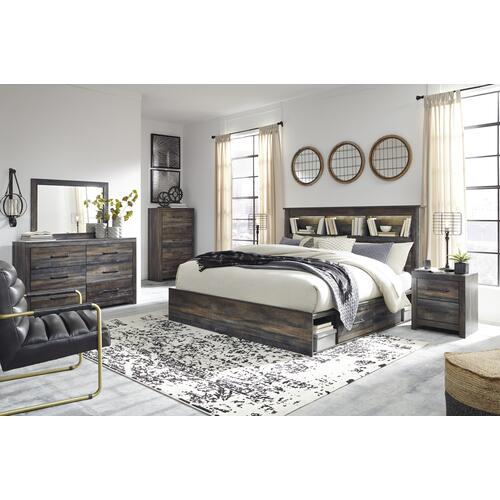 Drystan - Multi 3 Piece Bed (King)