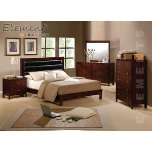 Fleming King Bed with Pillow PU