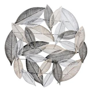 Metallic Leaves Wall Decor