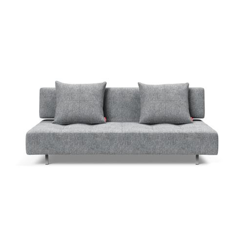 """LONG HORN EXCESS SOFA SEAT/BACK 55""""X79""""/LONG HORN LEGS WITH WHEELS, STEEL/DELUXE CUSHION 22""""X24"""" (1 PC)"""