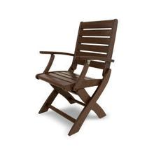 View Product - Signature Folding Chair in Mahogany