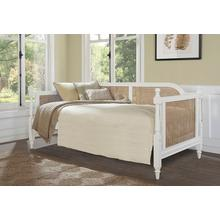 Melanie Cane Twin Daybed, White