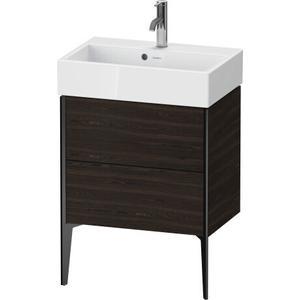 Duravit - Vanity Unit Floorstanding Compact, Brushed Walnut (real Wood Veneer)