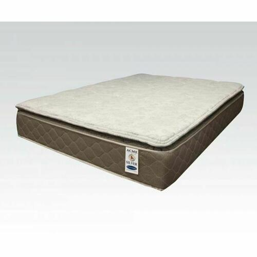 "ACME Englander Silver Eastern King Mattress - 29134 - 12"" Pillow Top"