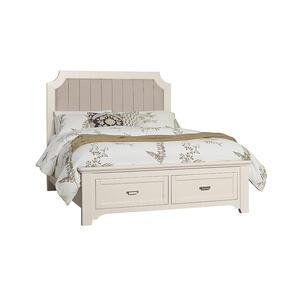 Upholstered Storage Bed Queen & King